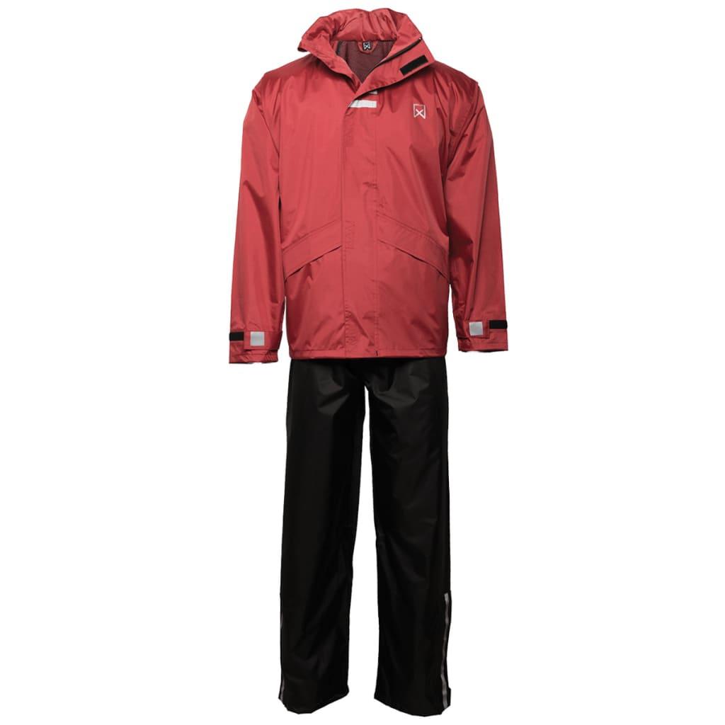 Willex Regntøy størrelse XL rød og svart 29151