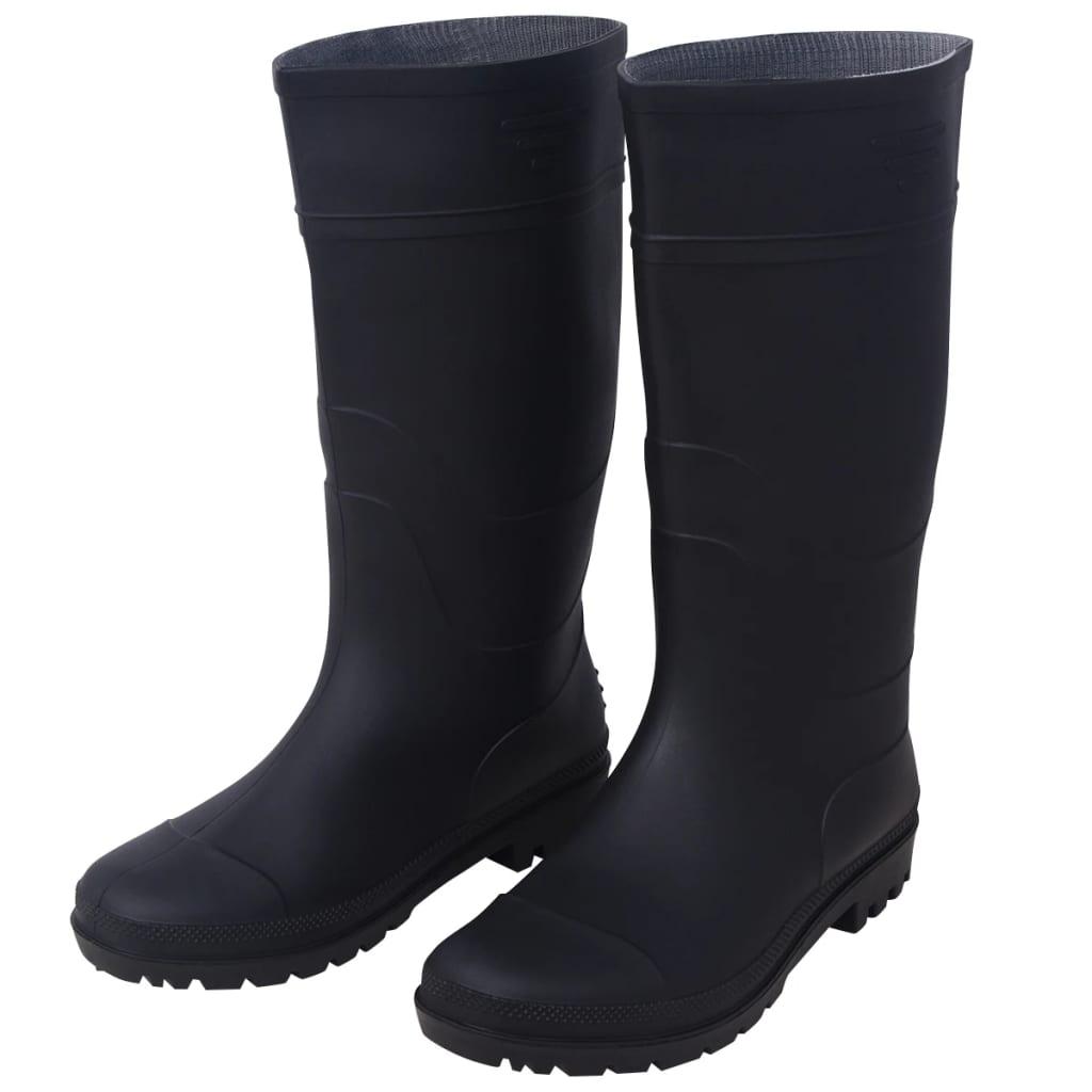 vidaXL Sikkerhetsstøvler størrelse 43 svart