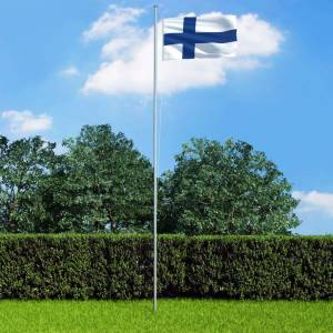 vidaXL Finsk flagg 90x150 cm