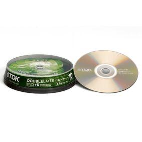 TDK DVD + R Doublelayer Cake 10-pakke
