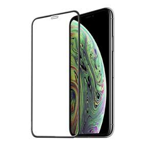 INF Skjermbeskytter iPhone X / XS herdet glass / 3D heldekkende - svart