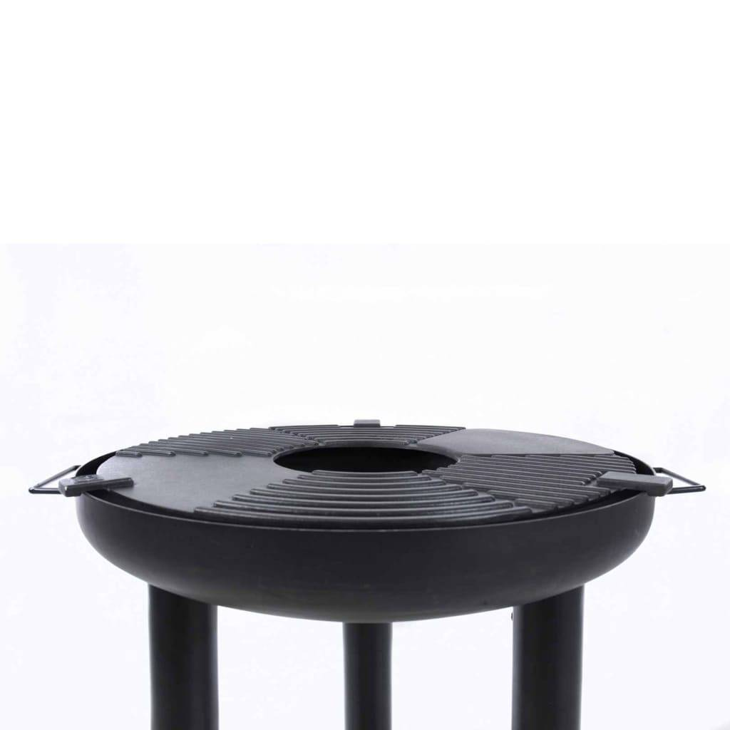BBGRILL BBQ Plancha Grill svart stål