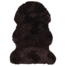vidaXL Teppe saueskinn 60x90 cm brun