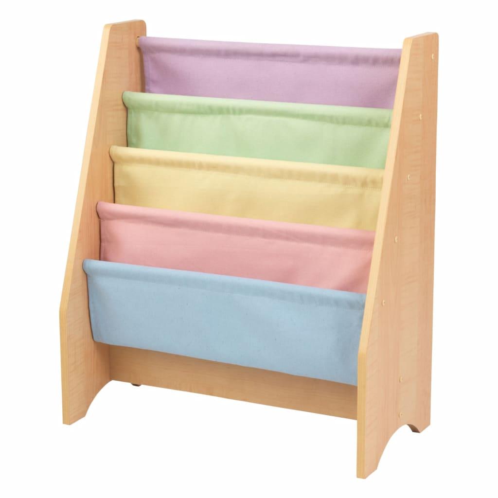 KidKraft Sling bokhylle for barn pastel naturlig 60,96x29,85x71,12cm