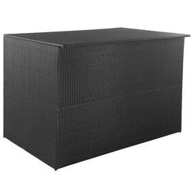 vidaXL Putekasse 150x100x100 cm polyrotting svart
