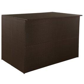vidaXL Putekasse 150x100x100 cm polyrotting brun