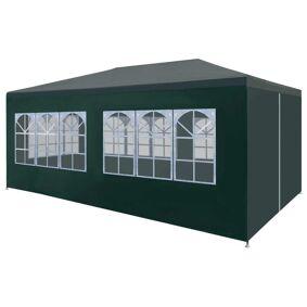 vidaXL Festtelt 3x6 m grønn