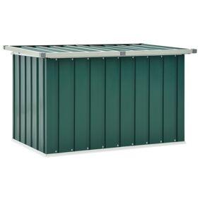 vidaXL Oppbevaringskasse 109x67x65 cm grønn