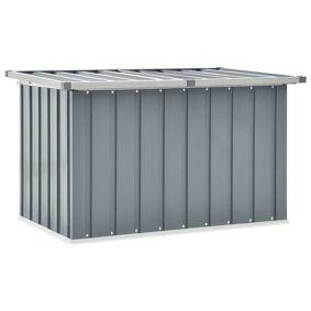 vidaXL Oppbevaringskasse 109x67x65 cm grå