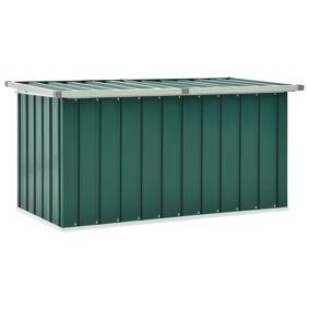 vidaXL Oppbevaringskasse 129x67x65 cm grønn