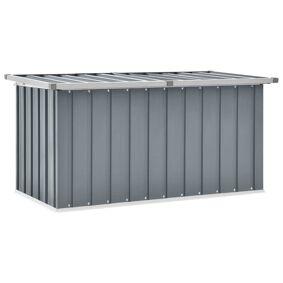 vidaXL Oppbevaringskasse 129x67x65 cm grå