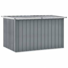 vidaXL Oppbevaringskasse 149x99x93 cm grå