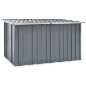 vidaXL Oppbevaringskasse 171x99x93 cm grå