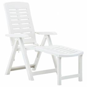 vidaXL Sammenleggbar solseng plast hvit