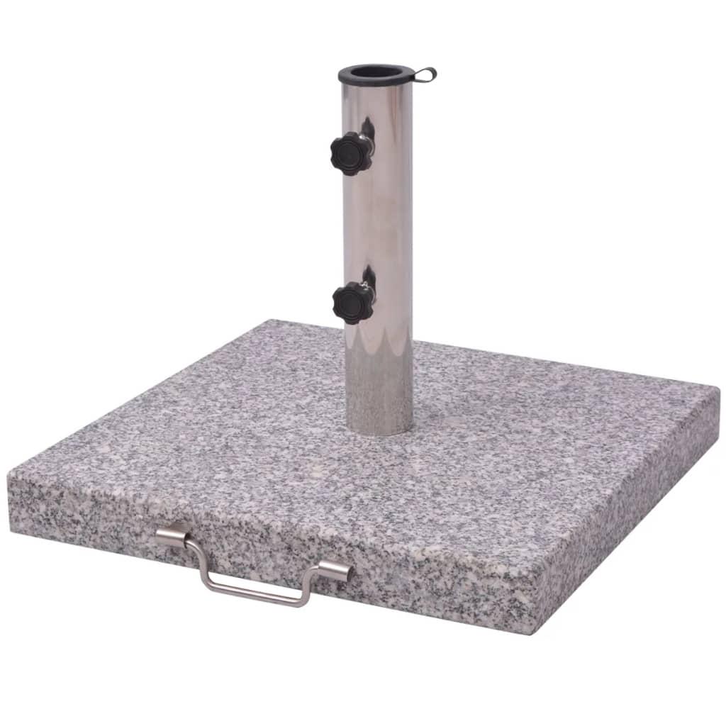 vidaXL Firkantet Parasoll Stand 48 cm