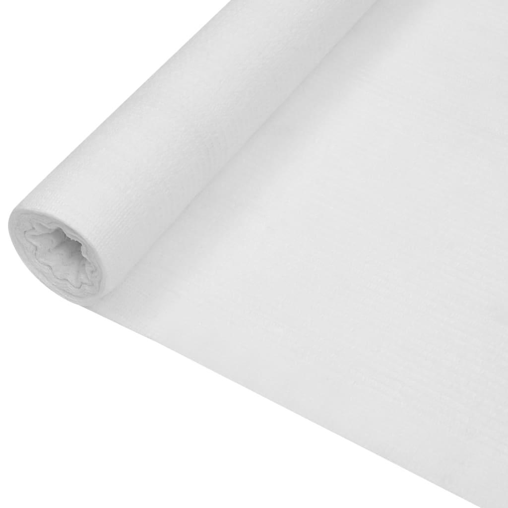 vidaXL Skjermnett hvit 1,8x25 m HDPE 150 g/m²