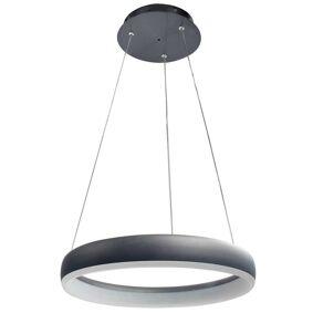 Wofi Hengelampe LED Clint 40x150 cm svart
