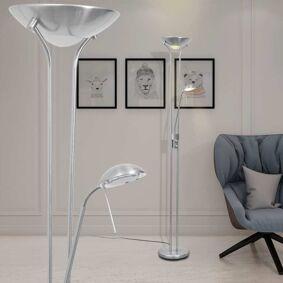 vidaXL LED Gulvlampe m/dimmer 23 W