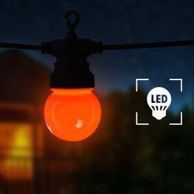 vidaXL Utendørs lysslynge 60 lyspærer rund juledekorasjon 59 m