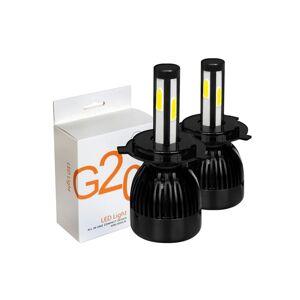Tech of sweden G20 LED-lyskasterlamper 9005 / H10 / HB3 Komplett sett