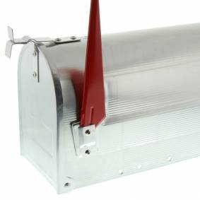 BURG-WÄCHTER Postkasse US-Box 892 Alu