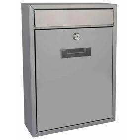 Perel Postboks Ibiza sølv BG40003