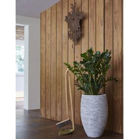 Capi Blomsterpotte Nature Rib elegant Deluxe 45x72 cm elfenben