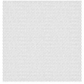 vidaXL Kjedegjerde for hage rustfritt stål 50x50 cm 30x17x2,5 mm
