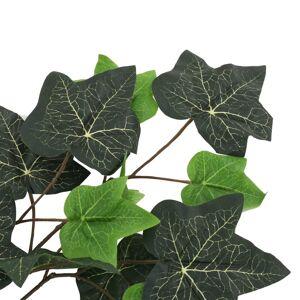 vidaXL Kunstige eføyblader 10 stk grønn 70 cm
