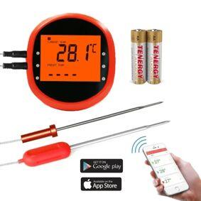 INF Smart trådløst steketermometer med 2 sensorer
