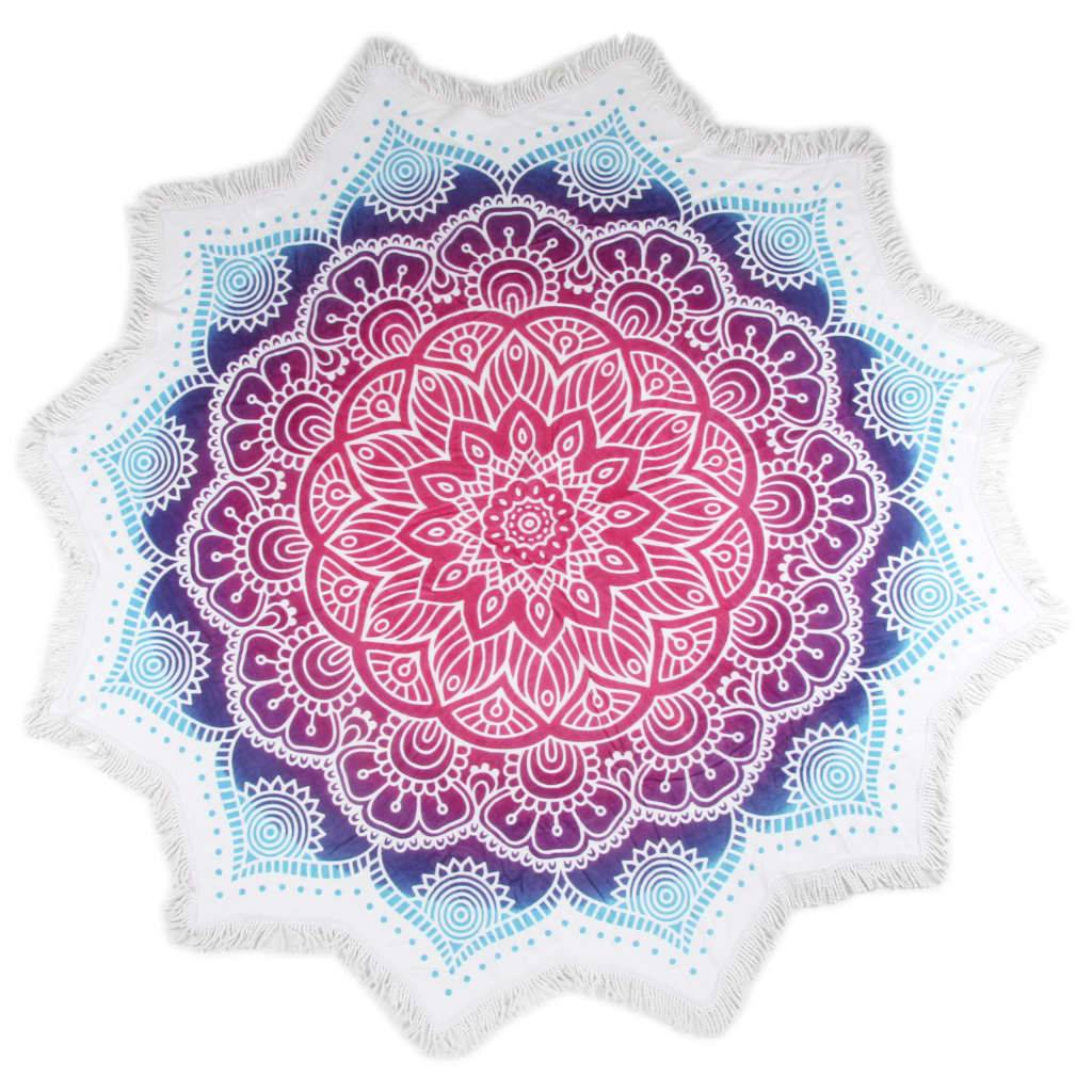 HIP Strandhåndkle 2070-H Helena blomst 160 cm flerfarget