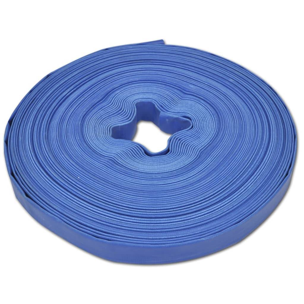 "vidaXL Flat vannslange 50 m 1"" PVC"