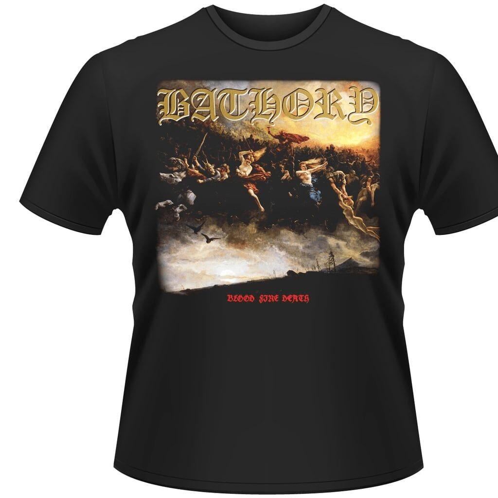 BATHORY BLOOD FIRE DEATHT-Skjorter