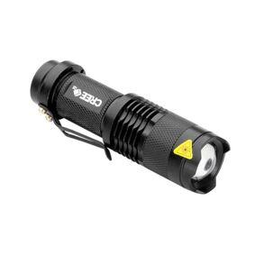eStore LED-Lommelykt CREE Ultrafire - Svart