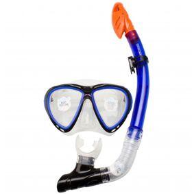 Waimea Senior dykkermaske med snorkel silikon koboltblå 88DJ