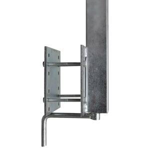 vidaXL Støttestang for båthenger 2 stk 63 - 88 cm