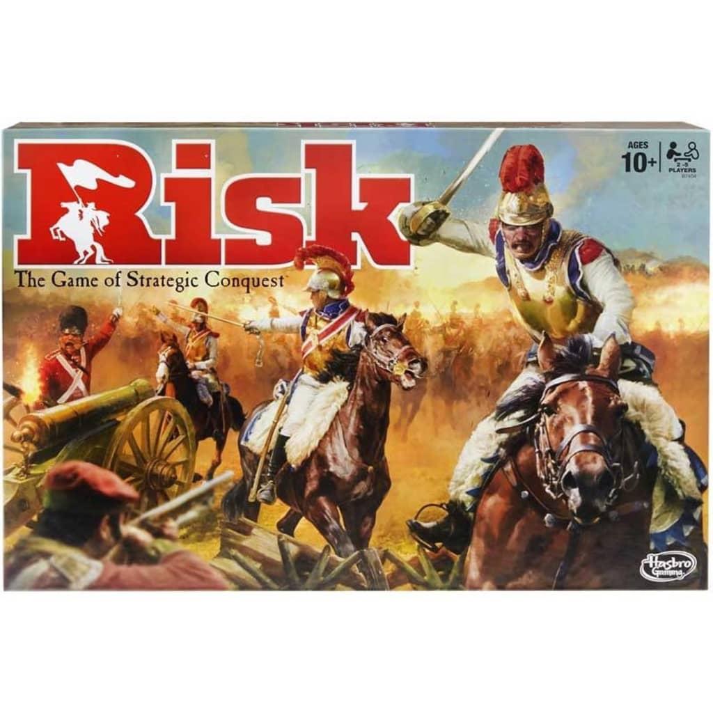 Hasbro Risk, et strategisk brettspill for 2-5 spillere