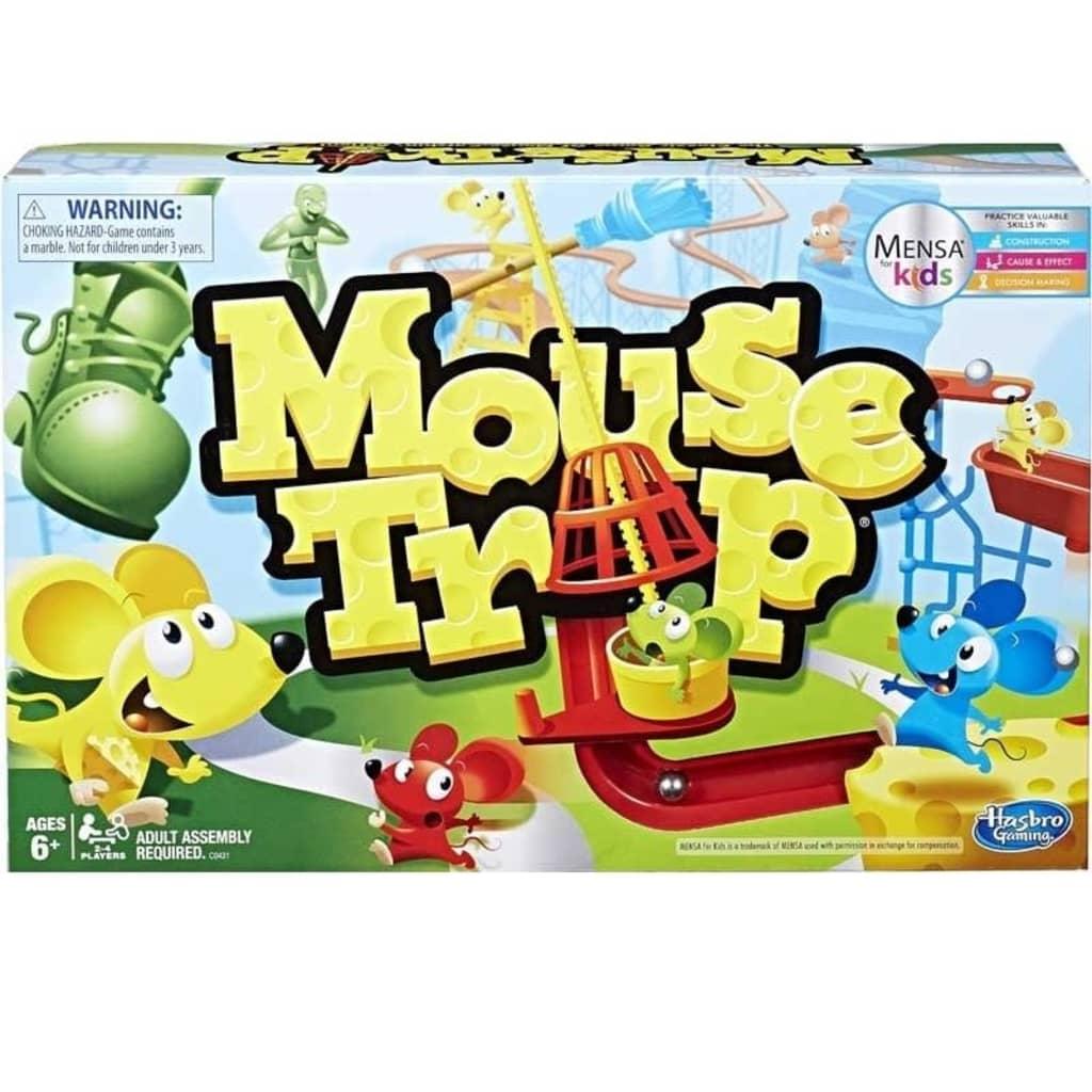 Hasbro Mouse Trap, et spennende spill til 2-4 personer