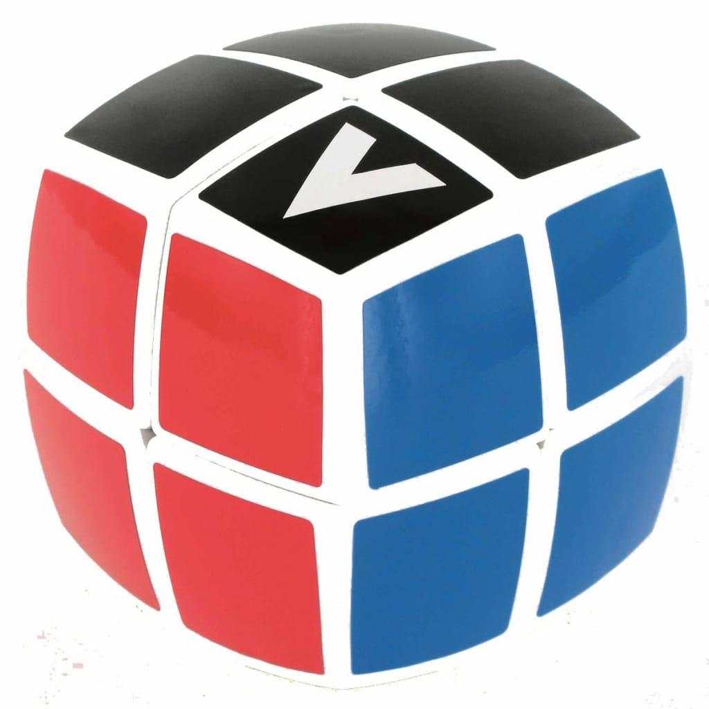 Cube V-Cube 2-lags rotasjons kube-puslespill 560002