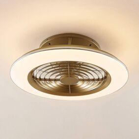 Arcchio Fenio LED-takvifte med lys, gull