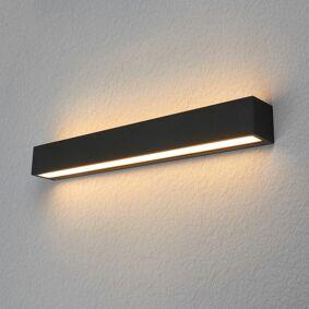 Lucande Kantet utendørs LED-vegglampe Tuana