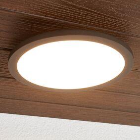 Lucande Malena utendørs LED-taklampe med sensor