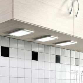 Lindby LED-benkarmatur Svela 3 sett