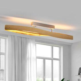 Lucande Elegant LED-taklampe med slagmetallfinish