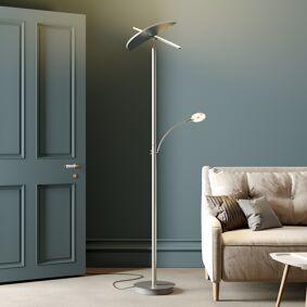 Lucande LED-uplight Anniki, nikkel
