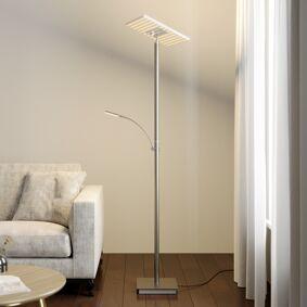 Lucande LED-uplight Joveline, nikkel