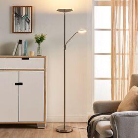 Lindby Praktisk LED-uplight Elina med leselampe
