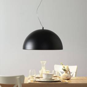 Lucande Maleo hengelampe 53 cm svart