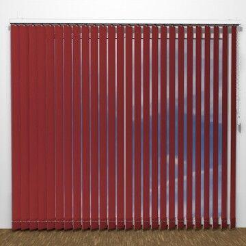 UNIG BASIC Lamellgardiner - Rød - U1432