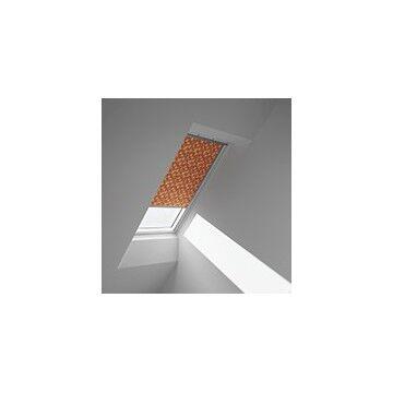 VELUX Rullegardiner - Oransje med mønster - 4568
